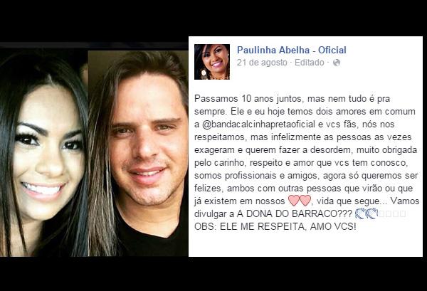 Paulinha Abelha e Marlus